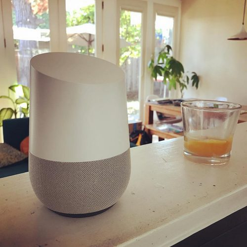 Google Home can do what you ask it to.