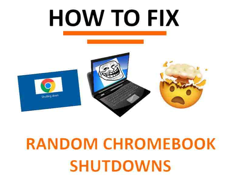 Why is my Chromebook tuning off by itself?