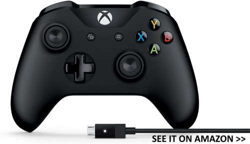 Xbox controller with USB for Chromebooks.
